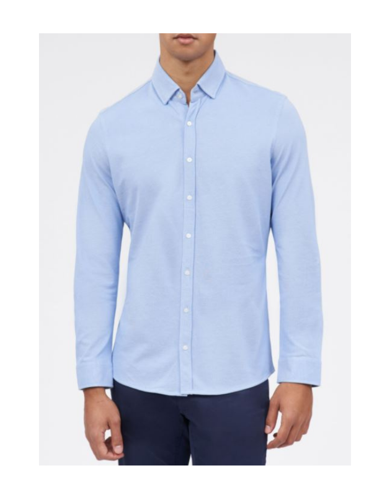 Brax David - Button Down - Blue
