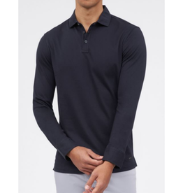 Brax Petko - Long Sleeve Polo - Navy