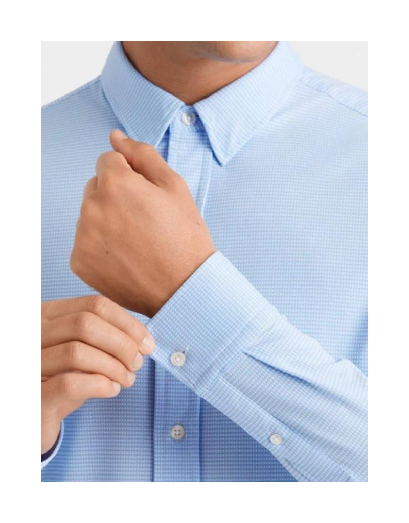Rhone Rhone Commuter Shirt - Lt Blue Gingham