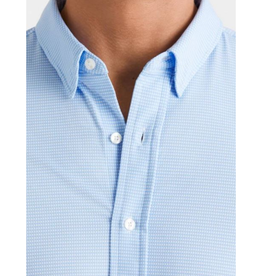 Rhone Rhone Commuter Shirt - Lt Blue Gingham