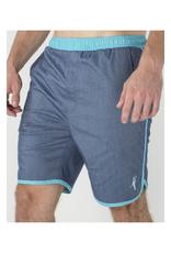 Volley Swim Shorts - Navy / Lt Blue