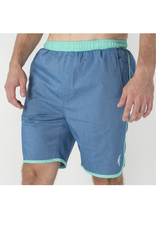 Volley Swim Shorts - Navy / Green