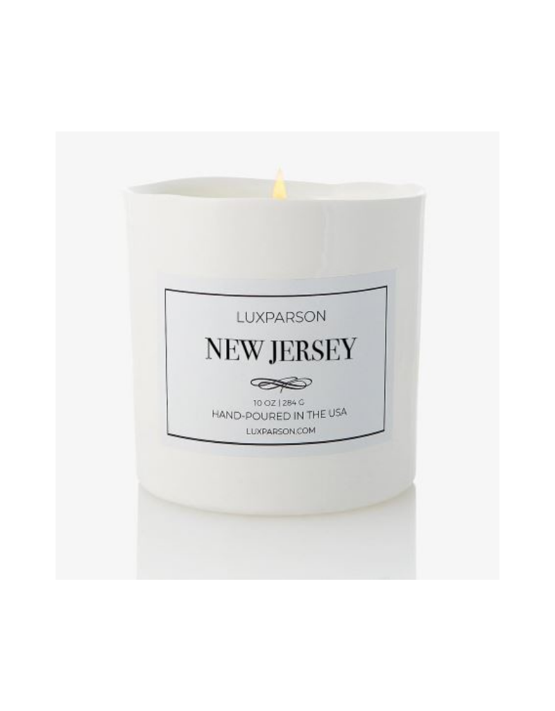 Luxparson Luxe Candles: New Jersey
