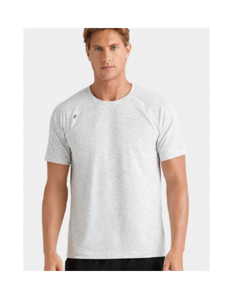 Rhone Reign SS T Shirt - Space Grey