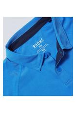 Rhone Delta Pique Polo - Egyptian Blue