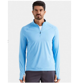 Rhone Courtside Perf 1/4 Zip - *More Colors