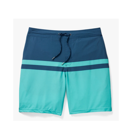 Fair Harbor FH Mens Ozone Short - Navy/Green Stripe