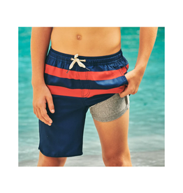 Fair Harbor FH  Kids AnchorTrunk - Red Stripe