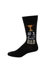 #1 Best Dad Black
