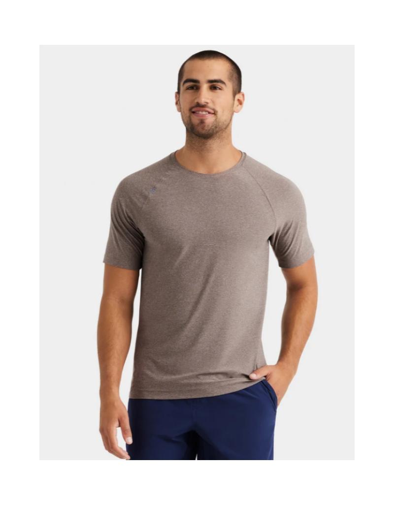 Rhone Reign SS T Shirt - Granite Heather