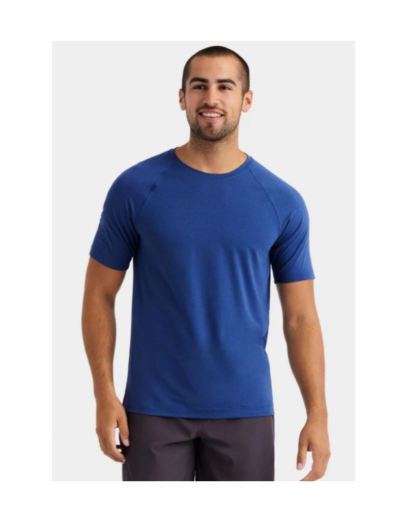 Rhone Reign SS T Shirt - Navy Sapphire