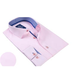 Avenue 21 Dress Shirts - Pink/Blue Trim