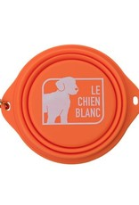Le chien blanc GUS Retractable bowl for dog