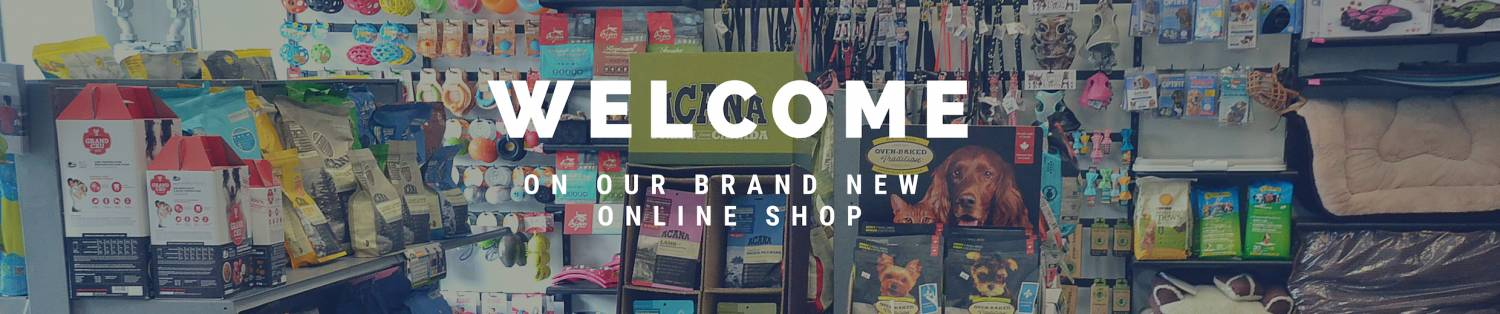 Welcome to our new online shop