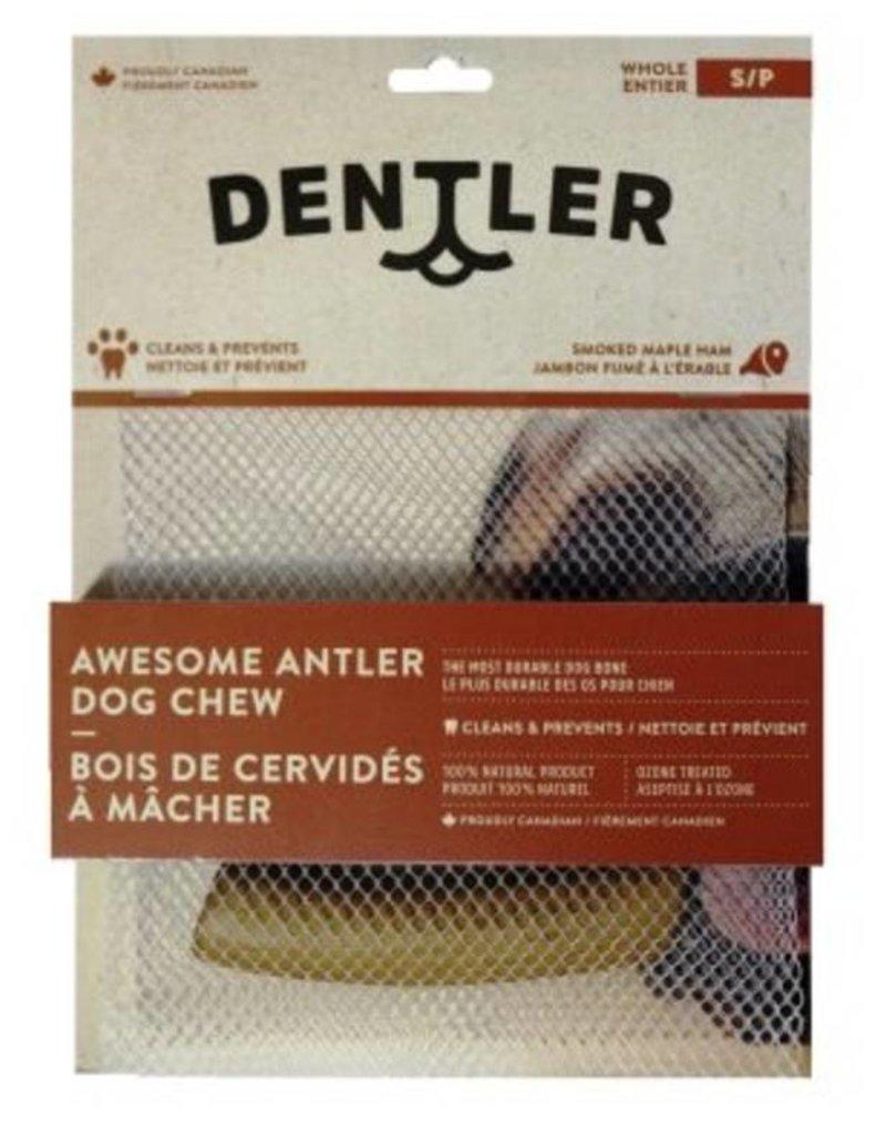 DENTLER Bois de cervidé coupé Dentler à saveur de jambon et érable