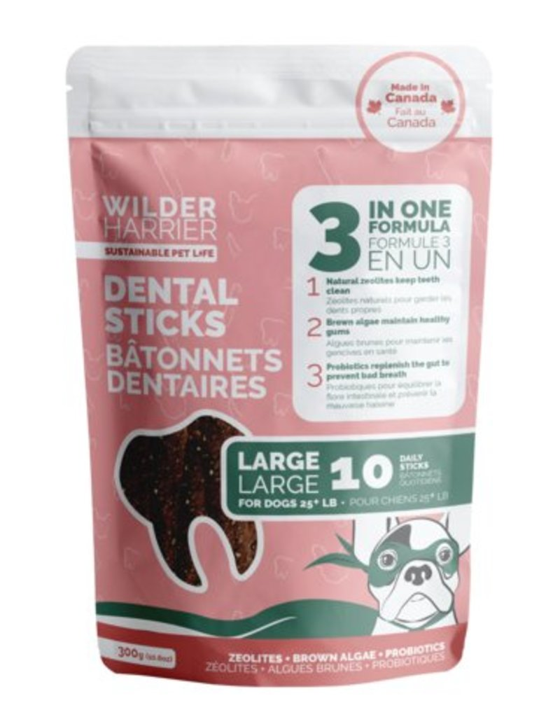 WILDER HARRIER 3 in 1 Dental Stick, 300gr
