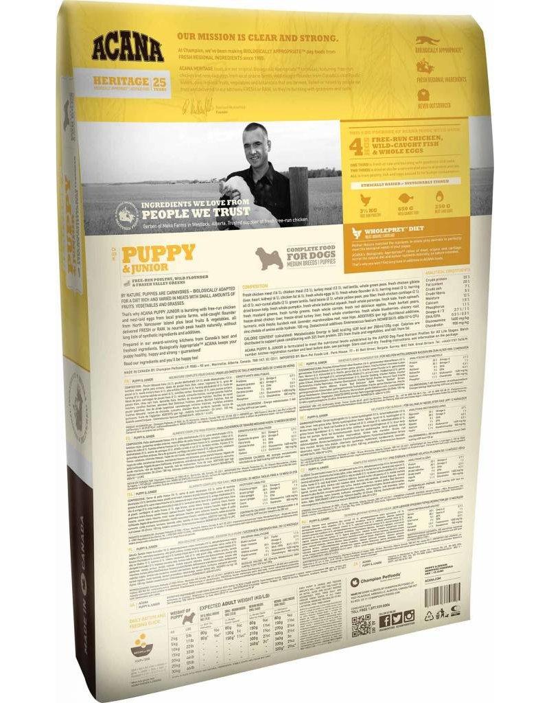 Acana Acana Dog Food Series Heritage Puppy + Jr