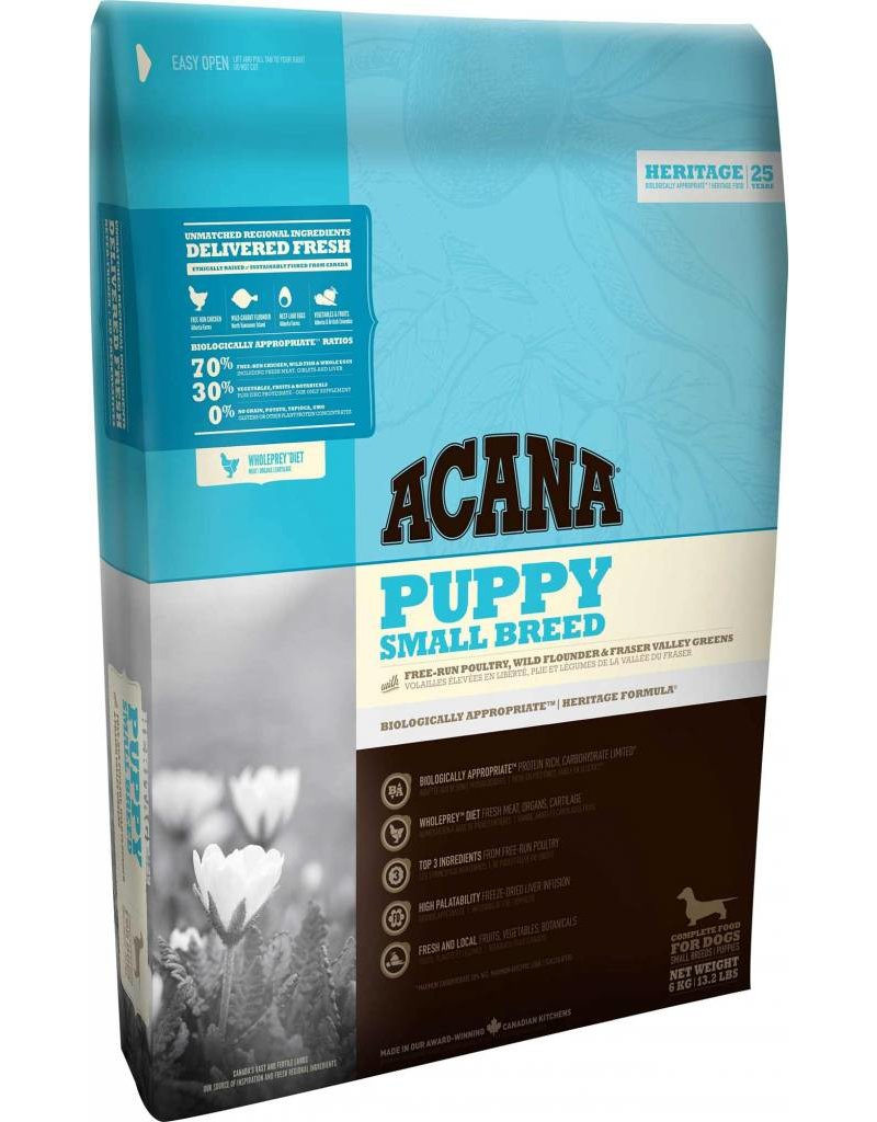 Acana Food Acana Dog Serie Heritage Puppy Small Breed