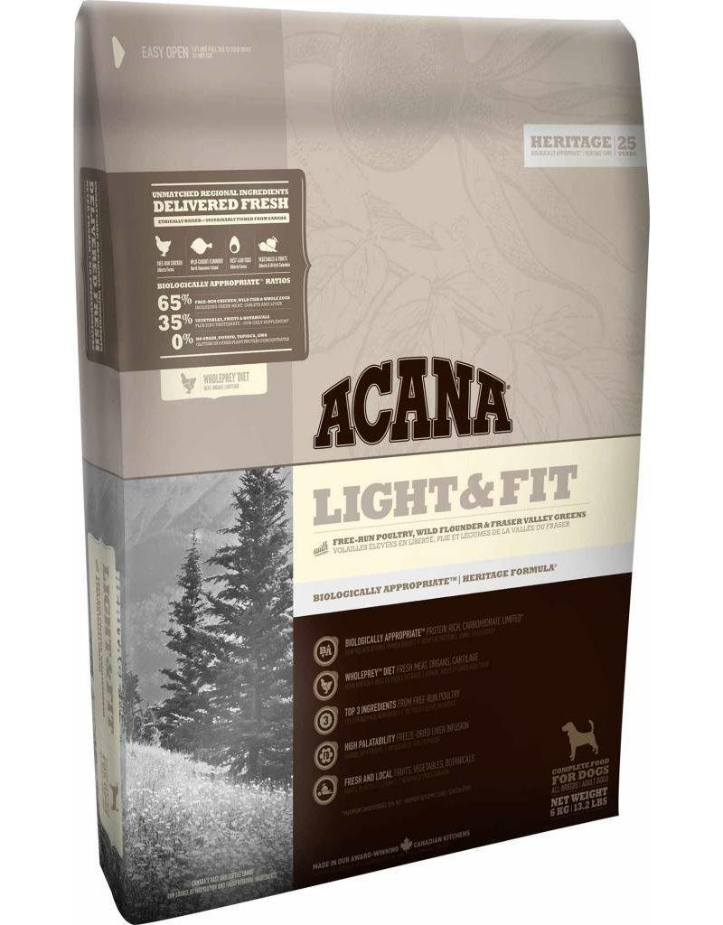 Acana Nourriture Acana Chien Serie Heritage Light+fit