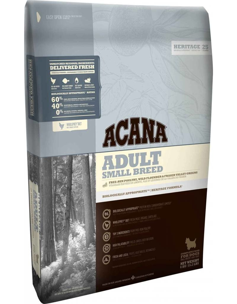 Acana Acana Dog Food Adult Small Breed, Heritage Series