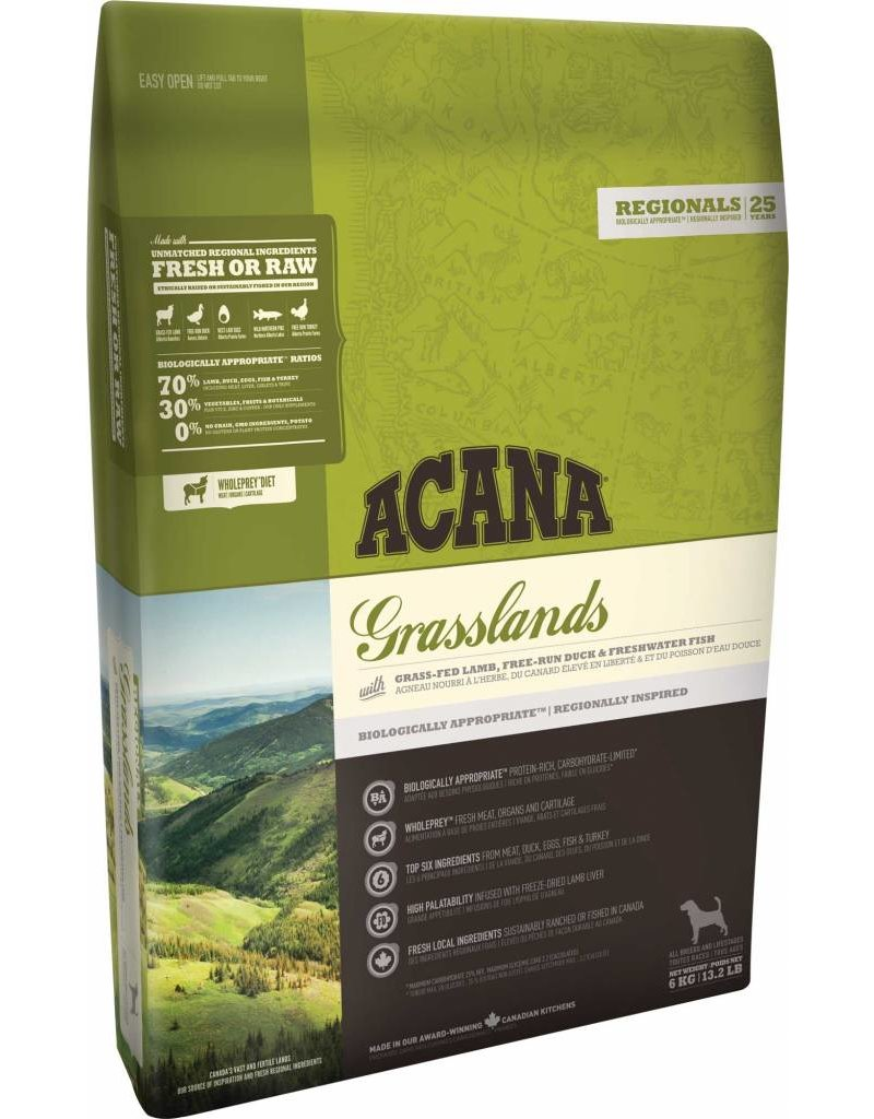 Acana Acana Food Grassland Dog, Regional Series