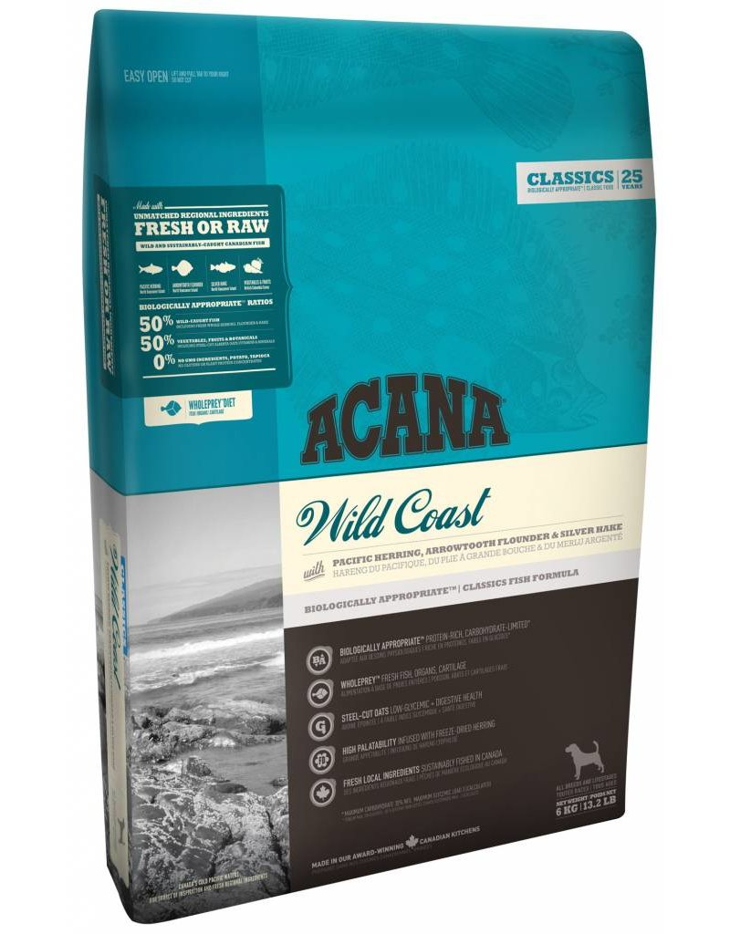 Acana Acana Wild Coast Dog Food, Classic Series