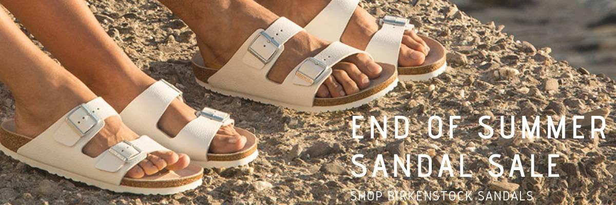 End of Summer Sandal Sale