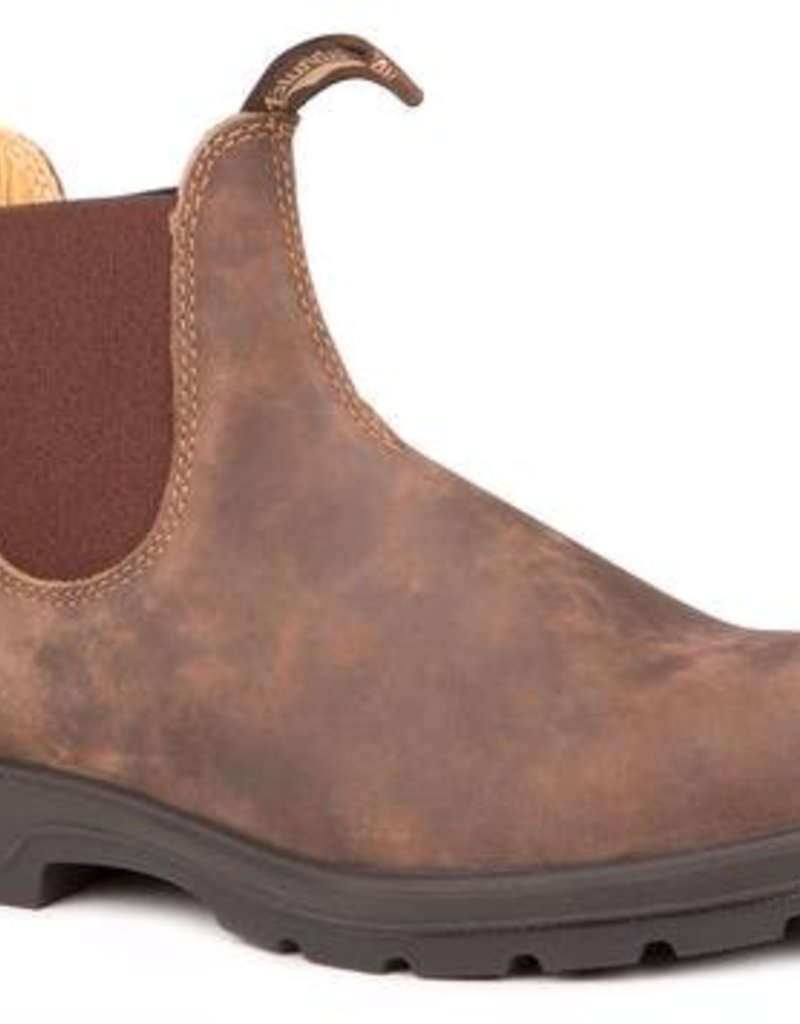 Blundstone Blundstone, Leather Lined Rustic Brown 585, 1WIDTH, 12
