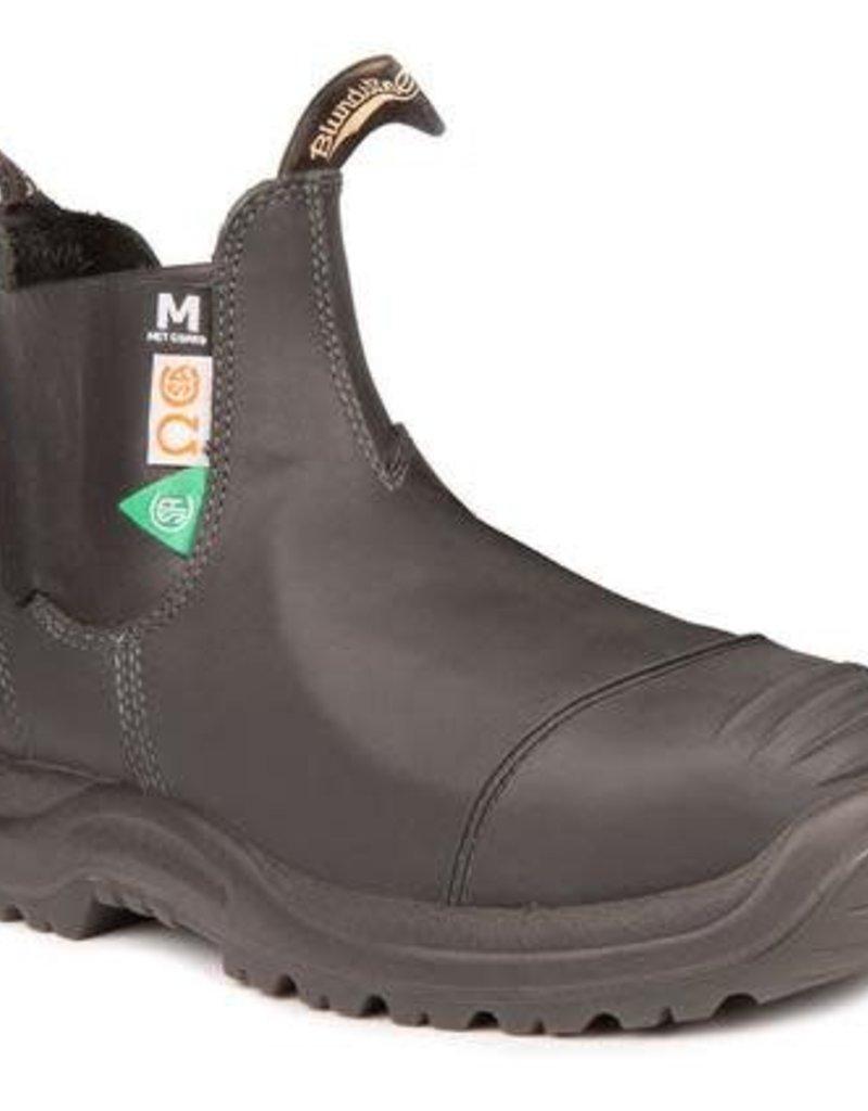 Blundstone Blundstone CSA Greenpatch/Met Guard-Black 165, 1WIDTH, 8