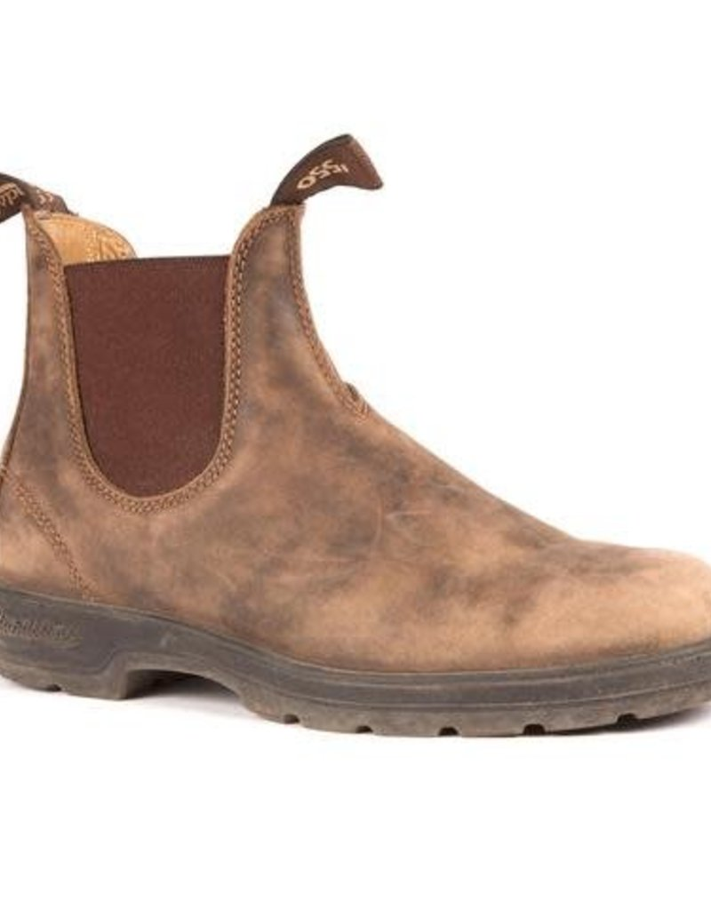 Blundstone Blundstone, Leather Lined Rustic Brown 585, 1WIDTH, 9.5