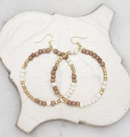 Stone+Stick Stone + Stick Hopscotch Hoop Earrings