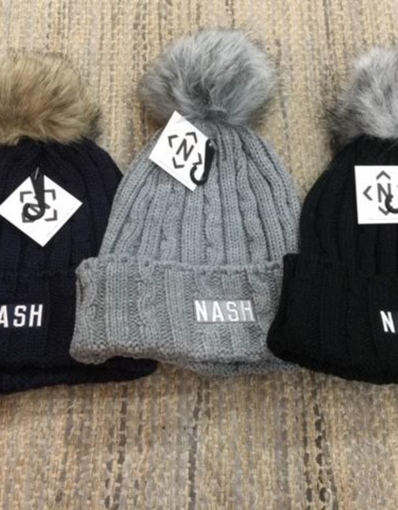 NASH Nash Collection PomPom Beanie