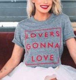 "The Light Blonde Light Blonde ""Lovers Gonna Love"" Tshirt"
