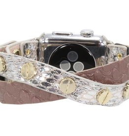 Erimish Erimish Criss Cross Watch Band