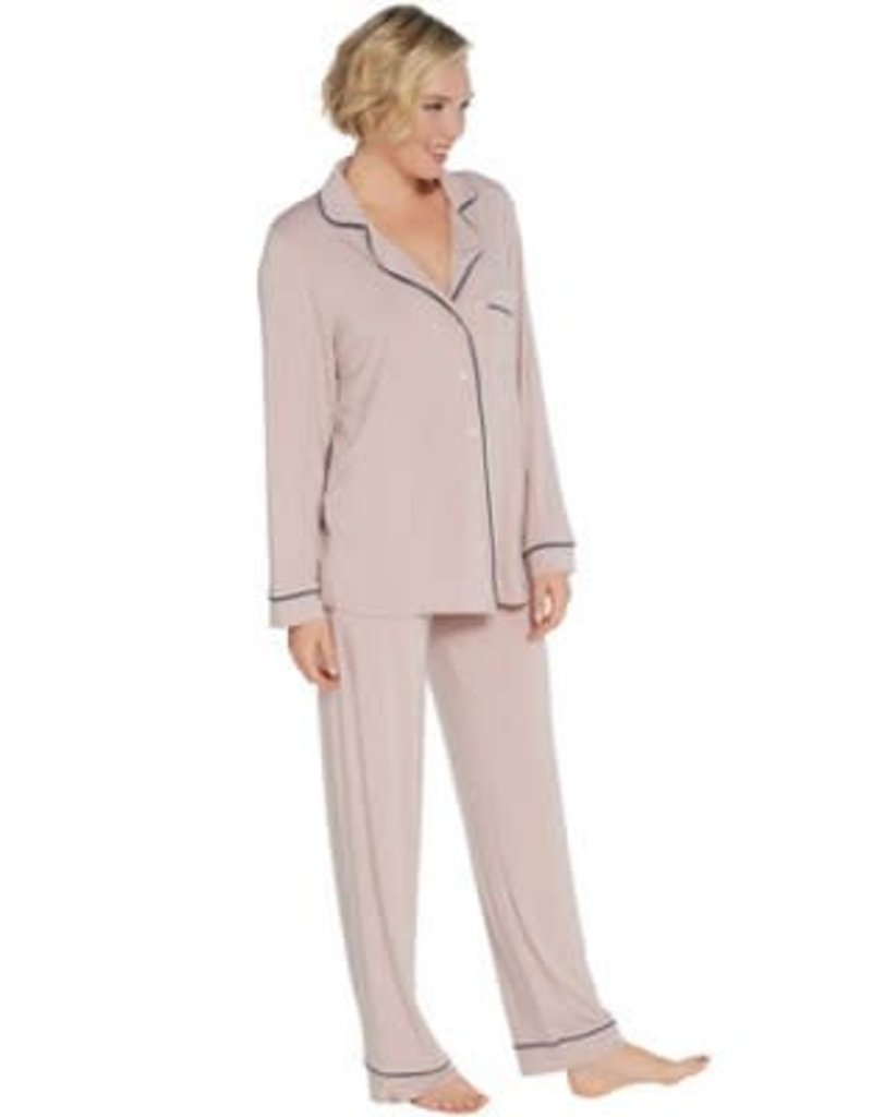 Barefoot Dreams Barefoot Dreams Luxe Piped Pajama Set