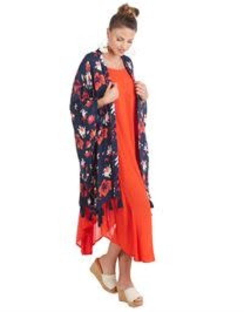 MudPie MudPie Kyla Tassel Kimono
