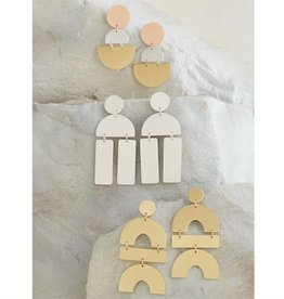 MudPie MudPie Geometric Earrings