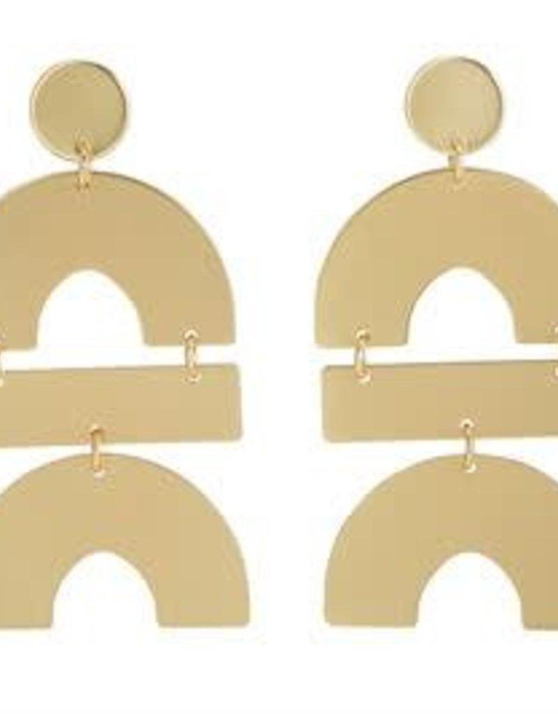 MudPie MudPie Geometric Earrings