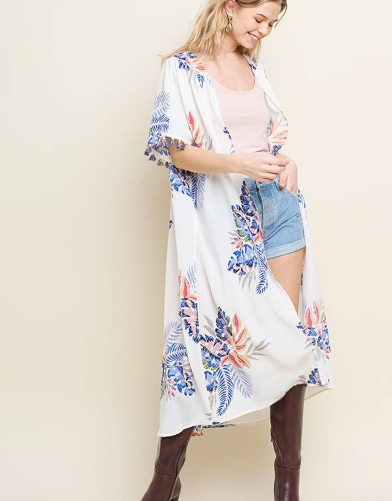 Umgee Floral Duster