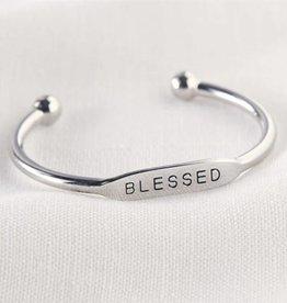 MudPie MudPie My First Bracelet- Blessed Cuff