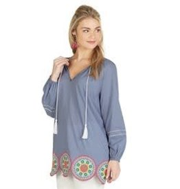 MudPie MudPie Monaco Embroidered Tunic