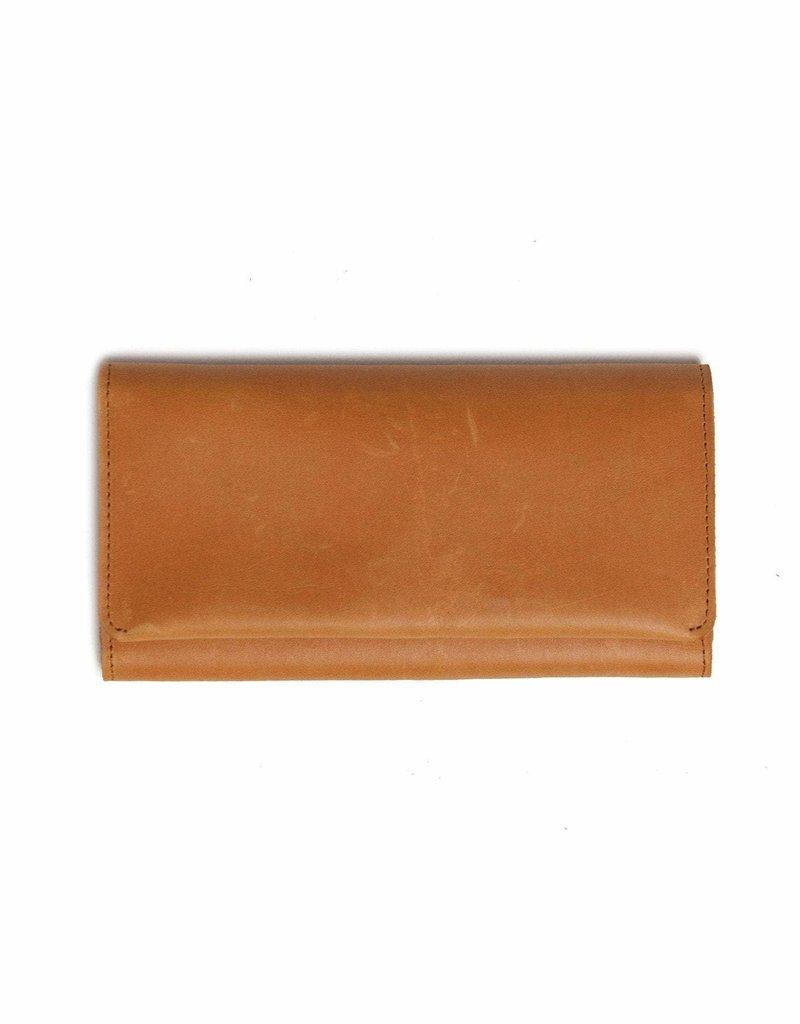 FashionABLE FashionABLE Debre Wallet- Cognac
