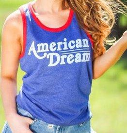 "The Light Blonde Light Blonde ""American Dream"" Tank"