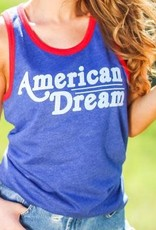 "The Light Blonde Light Blonde ""American Dream"" Tank"