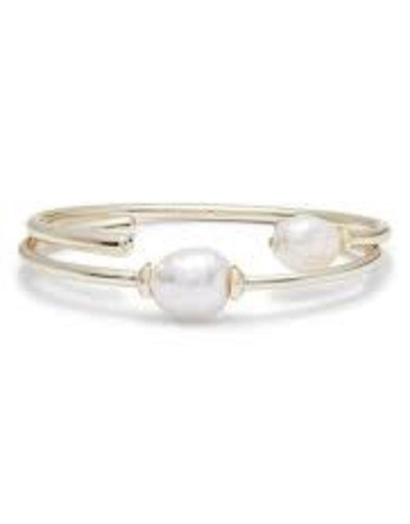 Kendra Scott Bracelet Amiya Gold Baroque Pearl