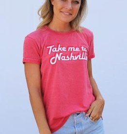 NASH The Nash Collection- Take Me To Nashville Vintage Tshirt