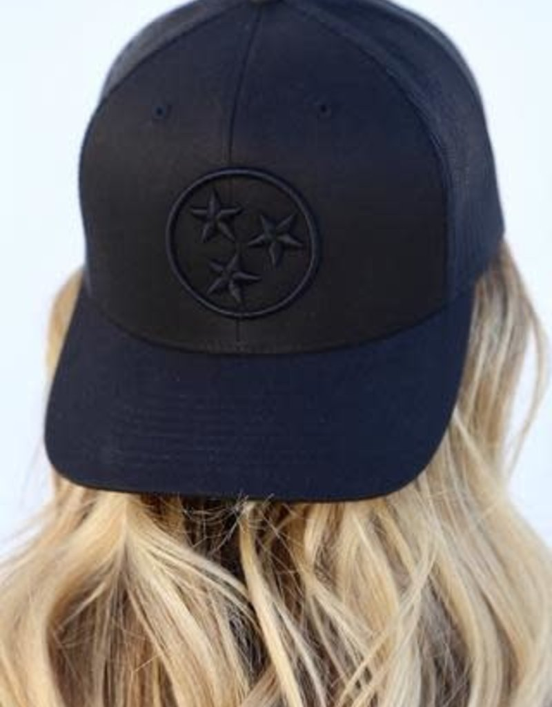 NASH The Nash Collection Trucker Hat- Tri Star