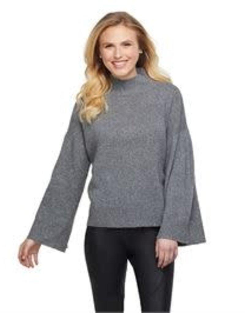 MudPie MudPie Willa Sweater- Grey