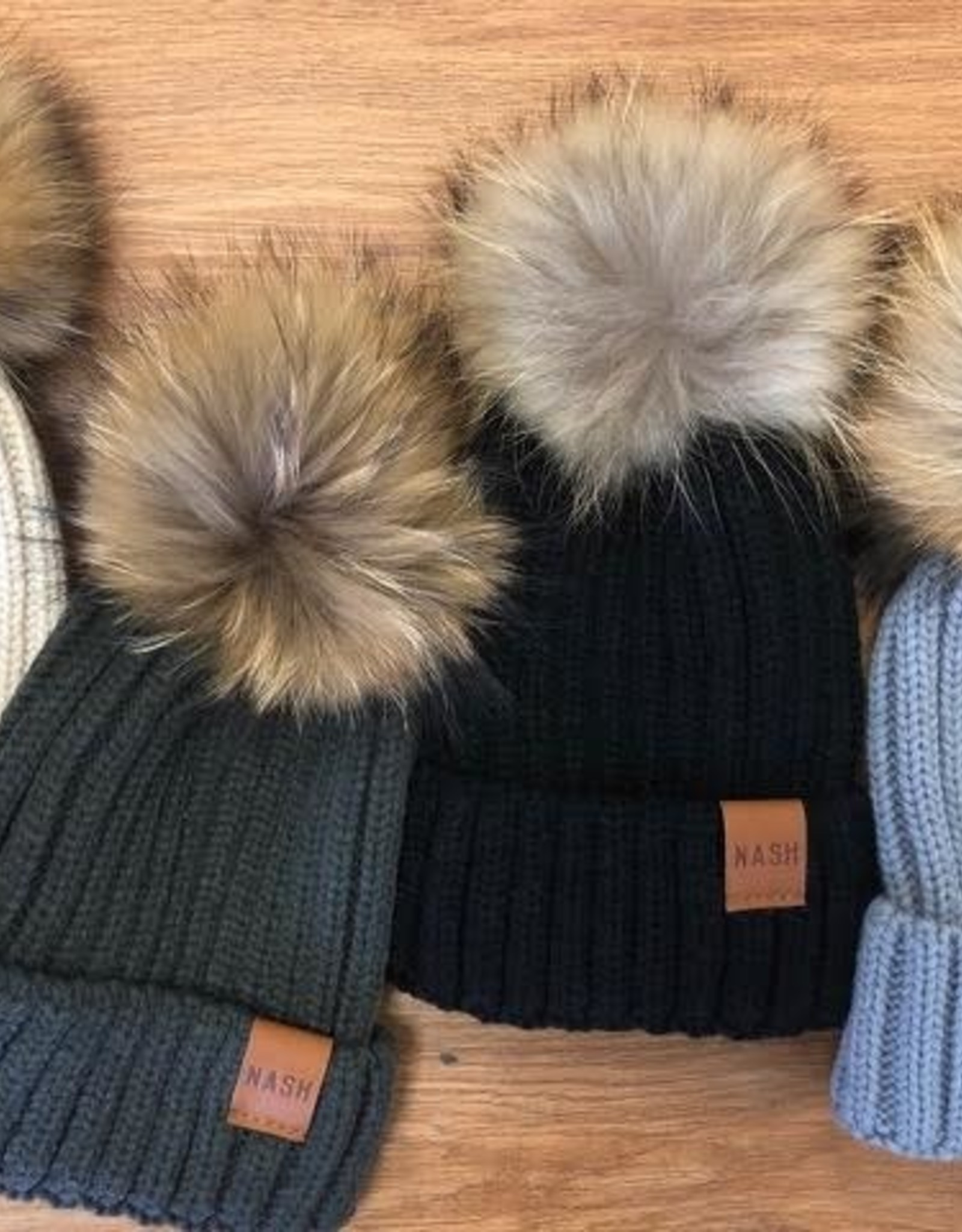 Nash Collection The Nash Collection- Fur Beanie