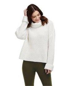 MudPie MudPie Wendy Waffle knit Sweater